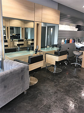 We clean hairdresseres and hair salons in Southampton